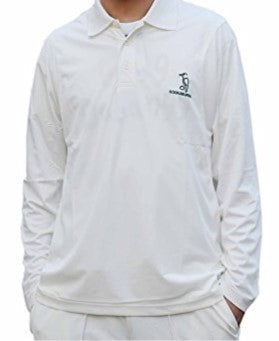 Kookaburra KBWT02 Full Sleeve White Shirt