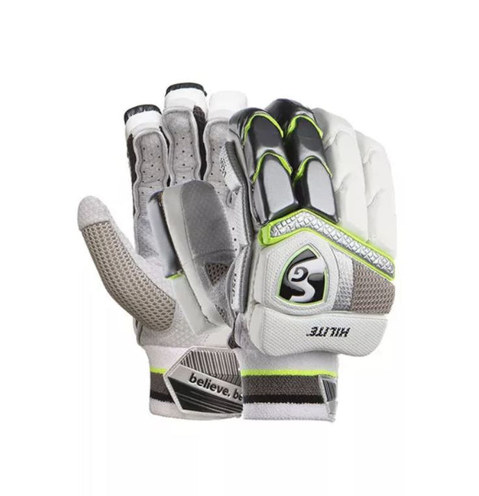 SG HILITE Lther Palm Cricket Batting Gloves