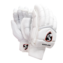 SG Test White Cricket Batting Gloves