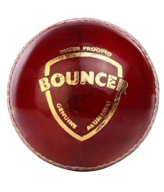 SG BOUNCER Red Cricket Leather Ball