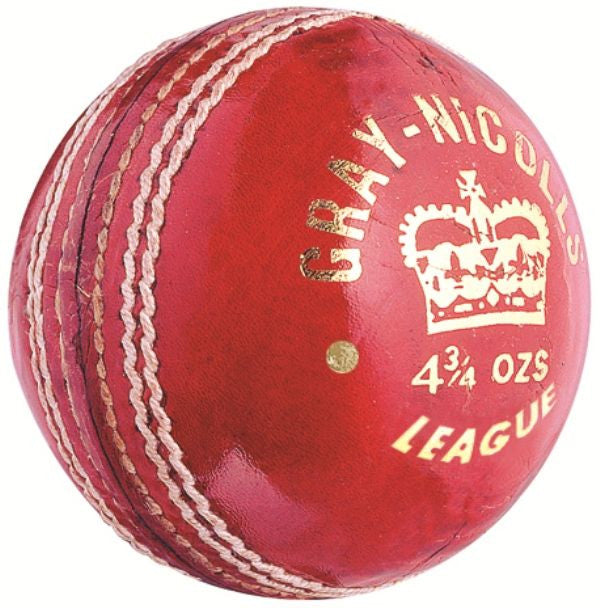 GRAY NICOLLS LEAGUE RED Leather Ball