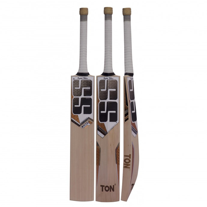 SS White Edition Gold English Willow Cricket Bat