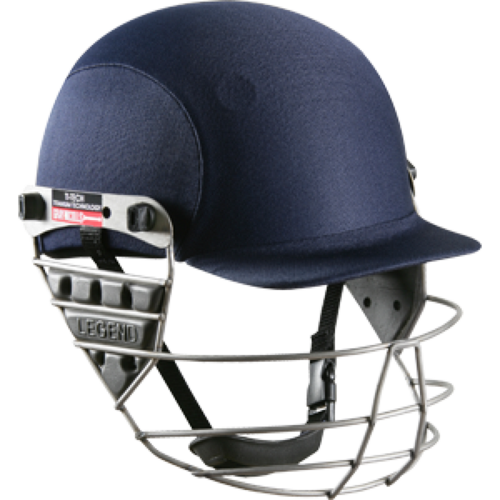 Gray Nicolls Legend Titanium Navy Cricket Helmet