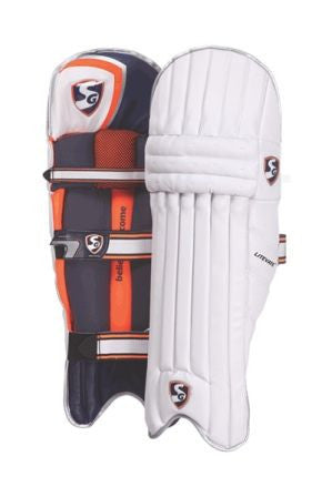 SG LITEVATE PU Facing Batting Pads