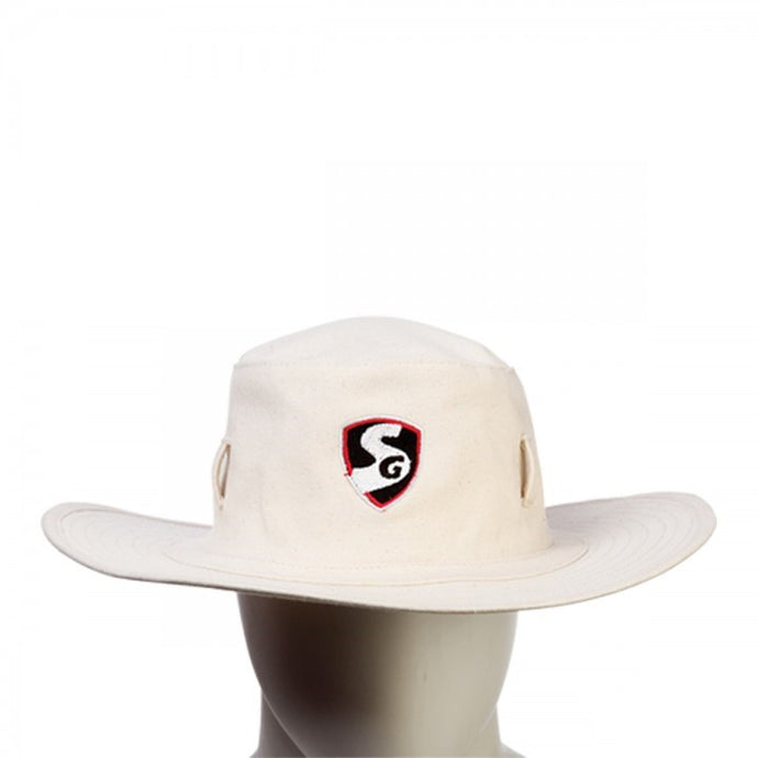 SG Supreme Panama Cricket Sunhat Cream
