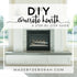 DIY Concrete Hearth