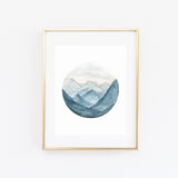 BLUE RIDGE WATERCOLOR PRINT