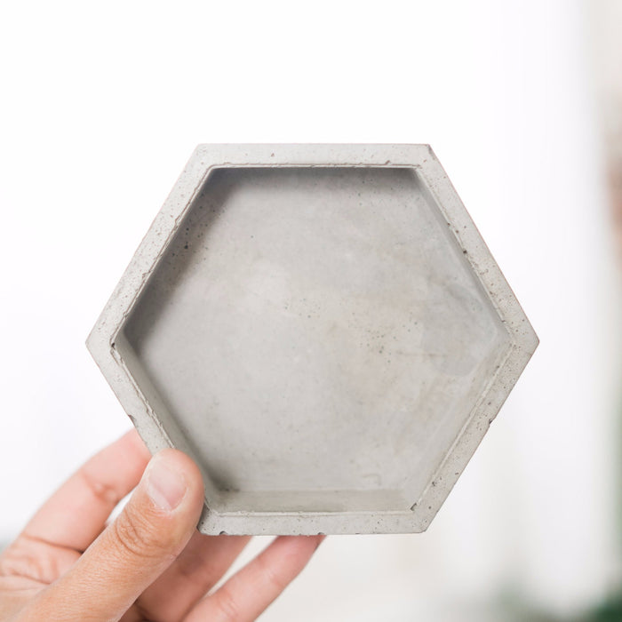 Modern Concrete Hexagon