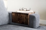 Wood Couch Arm Tray Table