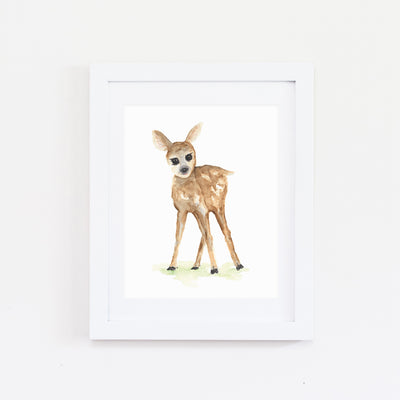 WOODLAND NURSERY 3PK WATERCOLOR PRINTS
