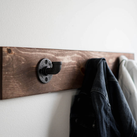 MODERN INDUSTRIAL FARMHOUSE COAT HANGER