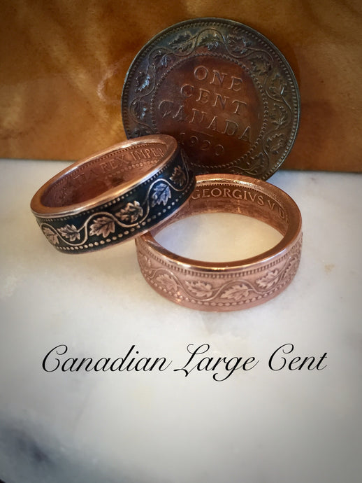 Copper Canadian Ring