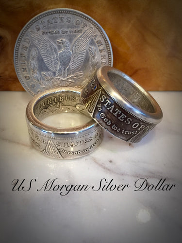 Silver Morgan Ring