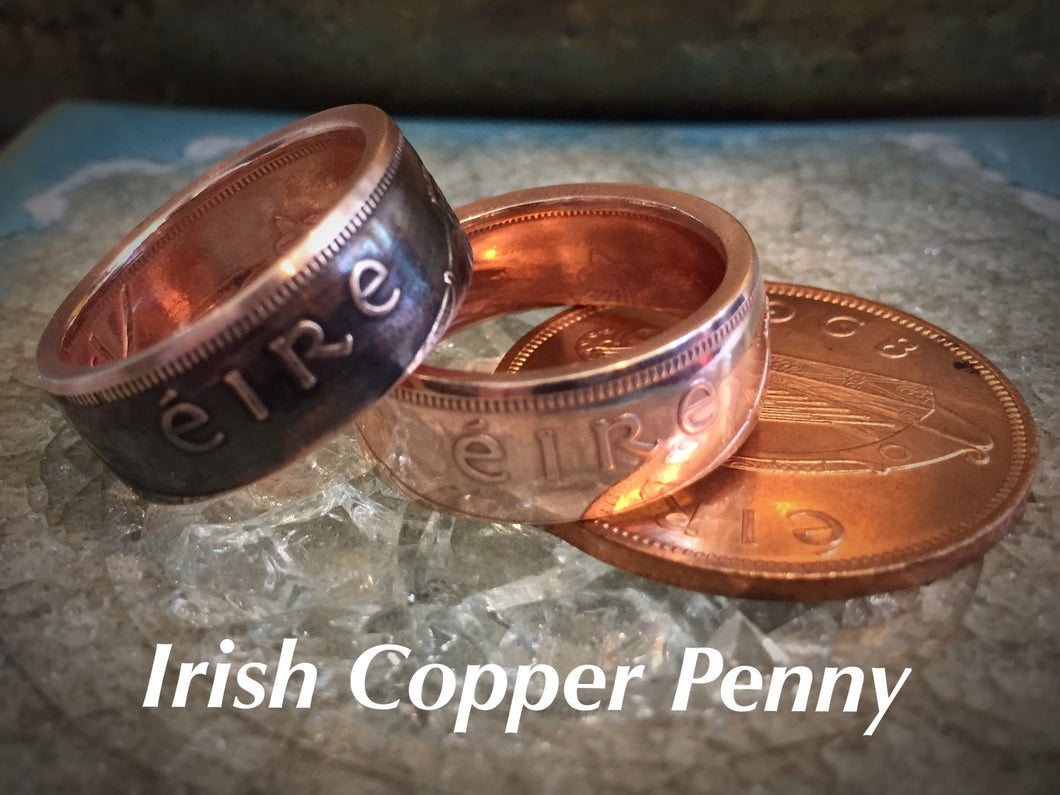 Copper Irish Ring