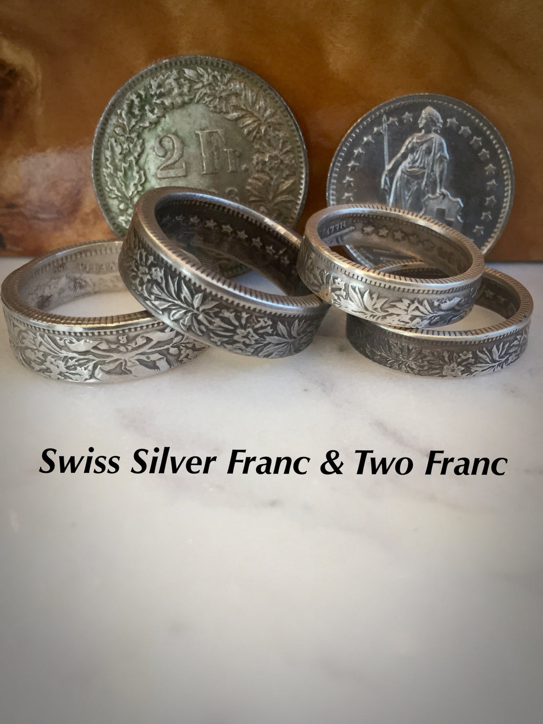 Silver Swiss Ring