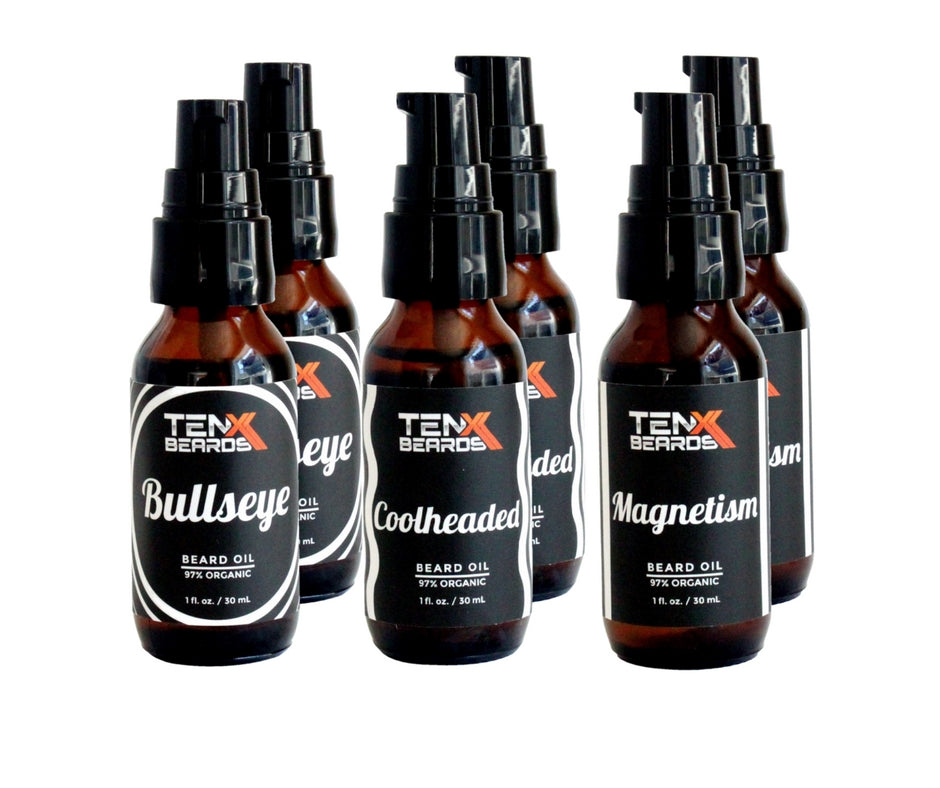 Beard Oil Bundle 6 Pack