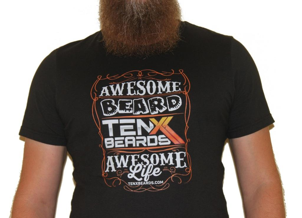 Awesome Beard Awesome Life T-Shirt