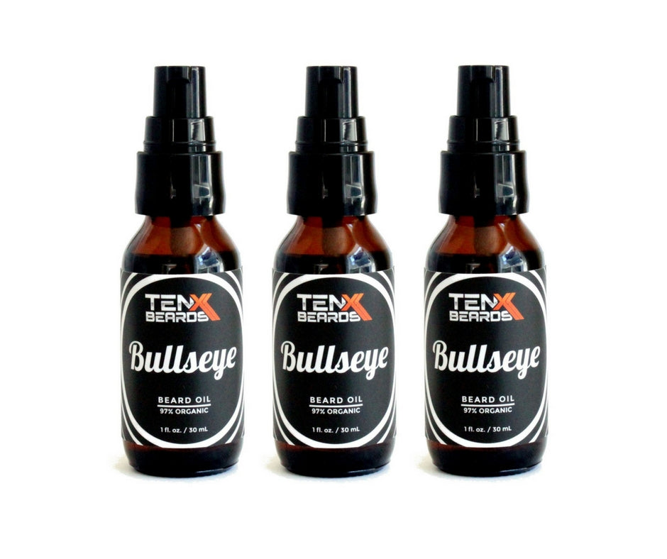 Bullseye Beard Oil Bundle 3 Pack