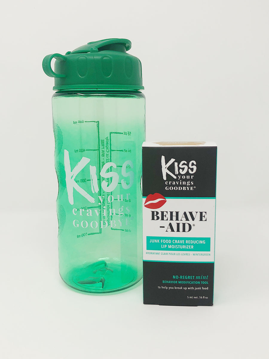 No- Regret Mint & Matching Water Bottle Combo