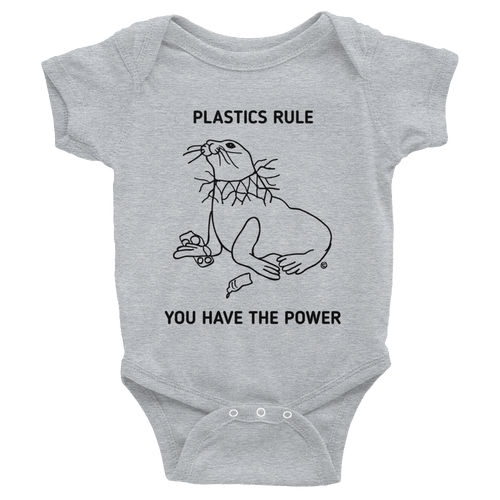 Infant Bodysuit- PLASTICS RULE