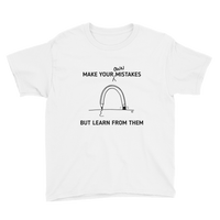 Youth Short Sleeve T-Shirt-MAKE YOUR OWN MISTAKES