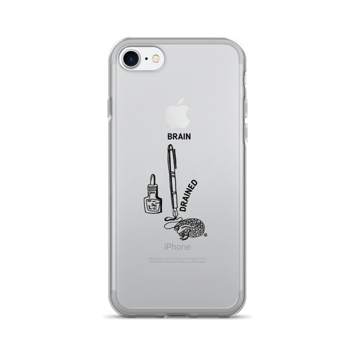 iPhone 7/7 Plus Case - BRAIN DRAINED