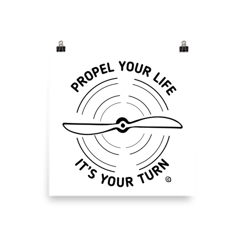 Photo paper poster- PROPEL YOUR LIFE