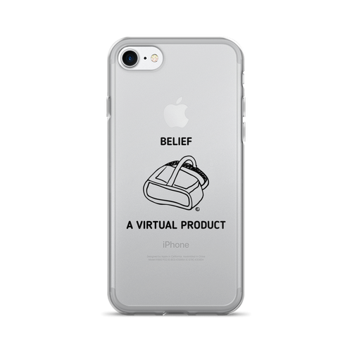 iPhone 7/7 Plus Case - BELIEF, A VIRTUAL PRODUCT