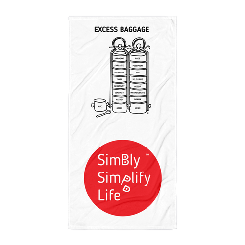 Beach Blanket-SIMBLY SIMPLIFY LIFE-EXCESS BAGGAGE