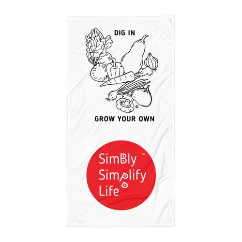 Beach Blanket- SIMBLY SIMPLIFY  LIFE: DIG IN, GROW YOUR OWN