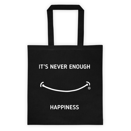 Tote bag-IT'S NEVER ENOUGH