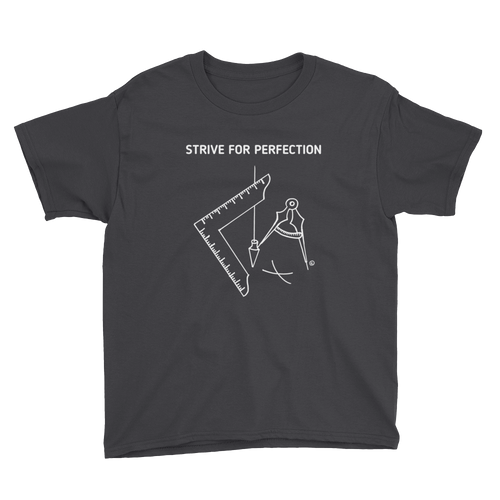 Youth Short Sleeve T-Shirt-STRIVE FOR PERFECTION