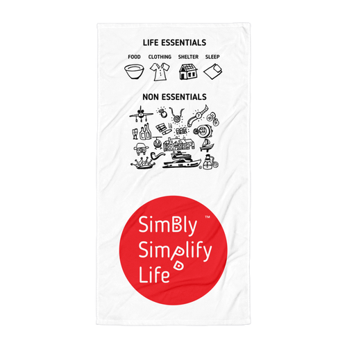 Beach Blanket- SIMBLY SIMPLIFY LIFE- LIFE ESSENTIALS