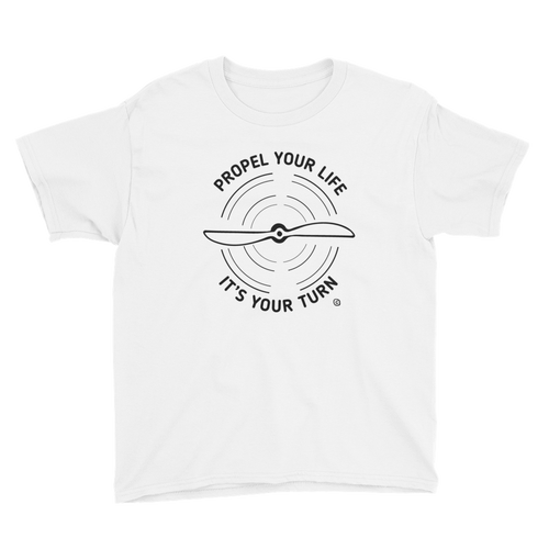 Youth Short Sleeve T-Shirt- PROPEL YOUR LIFE