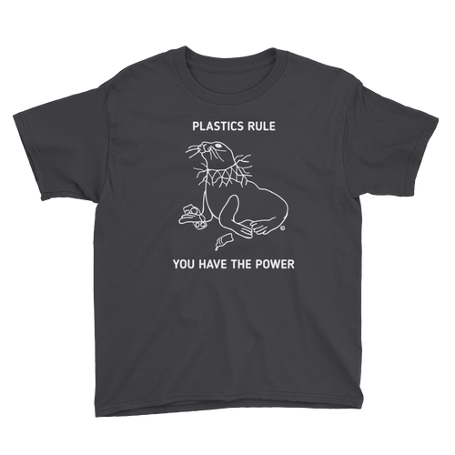 Youth Short Sleeve T-Shirt-PLASTICS RULE