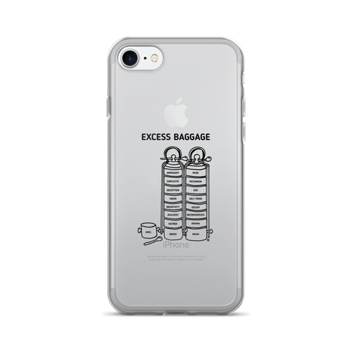 iPhone 7/7 Plus Case- EXCESS BAGGAGE