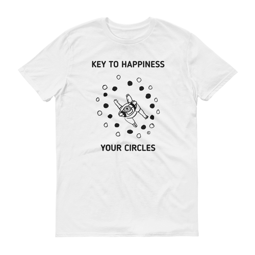 Short sleeve t-shirt- KEY TO HAPPINESS