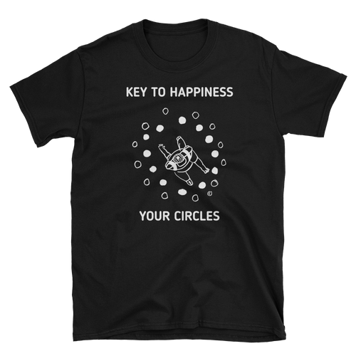 Unisex T-Shirt-KEY TO HAPPINESS