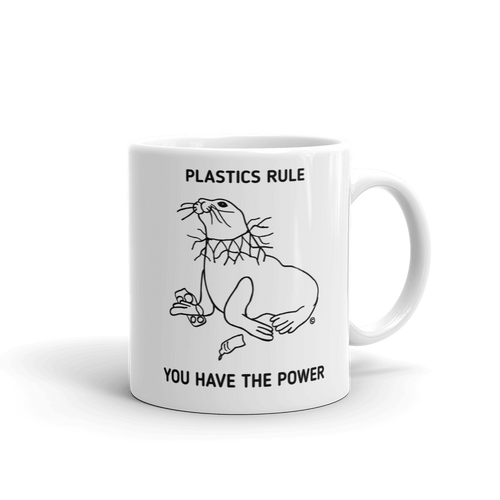 Mug - PLASTICS RULE, YOU HAVE THE POWER