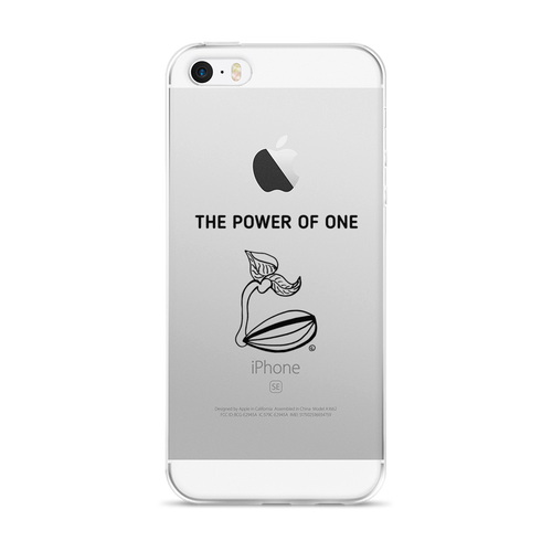 iPhone 5/5s/Se, 6/6s, 6/6s Plus Case- THE POWER OF ONE