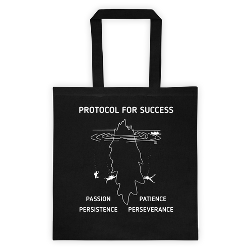 Tote bag-PROTOCOL FOR SUCCESS