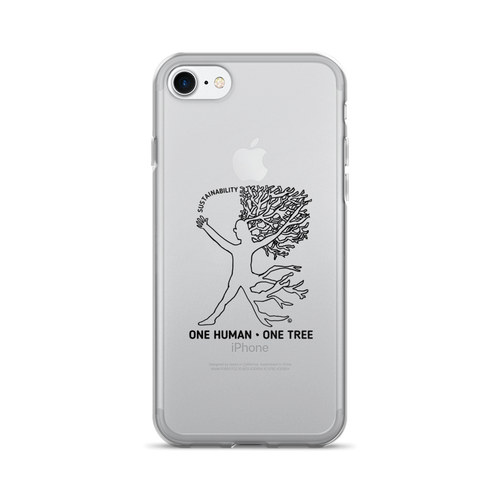 iPhone 7/7 Plus Case - ONE HUMAN, ONE TREE