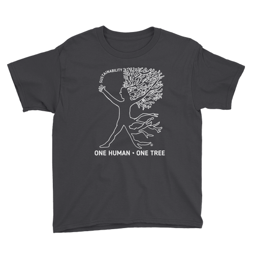 Youth Short Sleeve T-Shirt- ONE HUMAN : ONE TREE