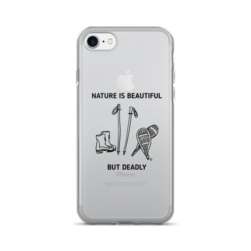 iPhone 7/7 Plus Case - NATURE IS BEAUTIFUL BUT DEADLY