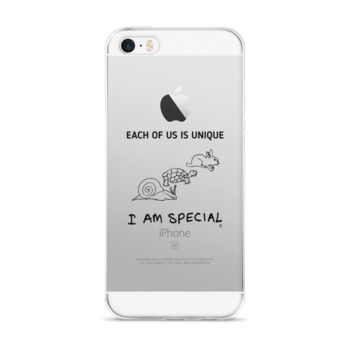 iPhone 5/5s/Se, 6/6s, 6/6s Plus Case- EACH OF US IS UNIQUE