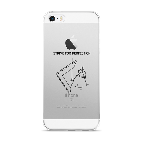 iPhone 5/5s/Se, 6/6s, 6/6s Plus Case - STRIVE FOR PERFECTION