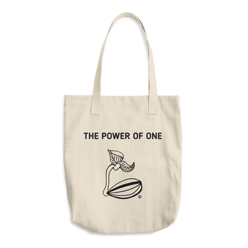 Cotton Tote Bag - THE POWER OF ONE