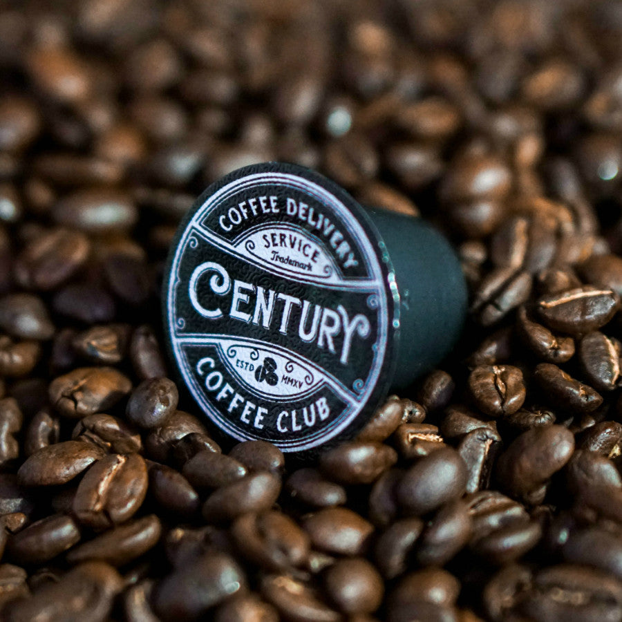 century coffee club deep cove dark nespresso compatible coffee pods