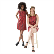 SAYDA Doodle Dress: group
