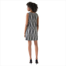 SAYDA Stonecut Dress: back